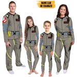 Alohazing 3D 1984 GB Uniform Custom Name Family Pajamas