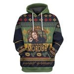 Alohazing 3D One Does Not Simply Walk Into Mordor Tshirt Hoodie Apparel