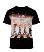Alohazing 3D The Slayers Bleached Shirt