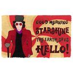 Alohazing 3D WW Good Morning Starshine The World Say Hello Doormat