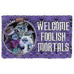 Alohazing 3D Welcome Foolish Mortals Doormat