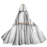 Alohazing 3D Shazam Hooded Cloak
