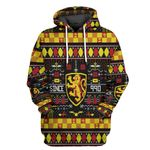 Alohazing 3D HP Gryffindor House Ugly Pattern Tshirt Hoodie Apparel