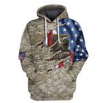 Alohazing 3D US Army Tshirt Hoodie Apparel