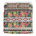 Hawaii Hibiscus Vintage Bedding Set J9