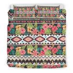 Hawaii Hibiscus Vintage Bedding Set J9