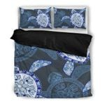 Hawaii Turtle Bedding Set, Honu Duvet Cover And Pillow Case