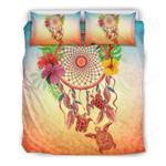 Hibiscus With Dreamcatcher Bedding Set H4