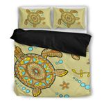 Hawaii Turtle Bedding Set, Honu Duvet Cover And Pillow Case Q1
