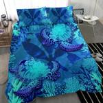 Polynesian Hawaii Turtle Bedding Set - Kanaka Maoli Flag - Bn12