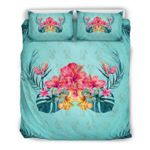 Hawaii Bedding Set, Tropical Duvet Cover And Pillow Case H4