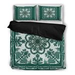 Hawaii Bedding Set, Tropical Leaf Duvet Cover And Pillow Case H4