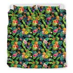 Hawaii Pineapple Bedding Set, Tropical Duvet Cover And Pillow Case A7