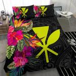 Hawaii Bedding Set Hibiscus Polynesian Pattern - Bn39