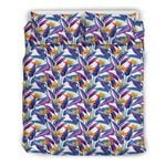 Hawaii Bedding Set, Strelitzia Duvet Cover And Pillow Case J7