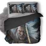The Witcher 3 Wild Hunt Geralt #8 Duvet Cover Bedding Set