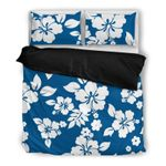 Hawaii Bedding Set, Hibiscus Duvet Cover And Pillow Case G5