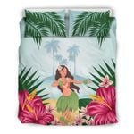 Hula Bedding Set Hawaii Hibiscus Th5