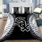 Chicago White Sox B210953 Bedding Set | Twin, Full, Queen,   King | 1 Duvet Cover, 2 Pillowcases | Thanksgiving, Christmas Set