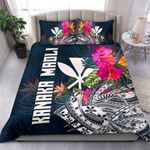 Polynesian Bedding - Hawaii Duvet Cover Polynesian Hibiscus With Summer Vibes - Bn15