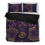 Hawaii Bedding Set, Tiki Head Duvet Cover And Pillow Case Q1