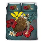 Hawaii Bedding Set - Blue Turtle A02