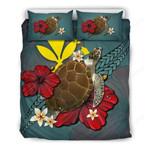 Hawaii Bedding Set - Blue Turtle A02