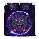 Hawaii Bedding Set, Tiki Head Duvet Cover And Pillow Case Bn04