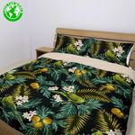 Hawaii Tropical Bedding Set, Palila Bird Duvet Cover And Pillow Cover Bn04