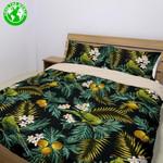 Hawaii Tropical Bedding Set, Palila Bird Duvet Cover And Pillow Cover Bn04