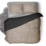 Fabric Texture Pattern Duvet Cover Bedding Set Ng1410