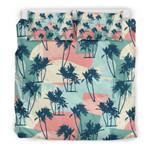 Hawaii Palm Vintage Bedding Set J9