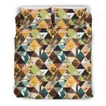 Hawaii Bedding Set, Pattern Duvet Cover And Pillow Case J7