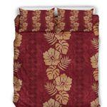 Hawaii Bedding Set, Tropical Duvet Cover And Pillow Case A0