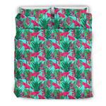 Hawaii Tropical Bedding Set, Strelitzia Duvet Cover And Pillow Case J7