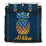 Hawaii Aloha Pineapple Bedding Set - Bn09