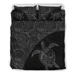 Hawaii Bedding Set, Tribal Turtle Mermaid Duvet Cover And Pillow Case Th0