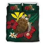 Hawaii Bedding Set - Green Turtle A02