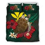 Hawaii Bedding Set - Green Turtle A02