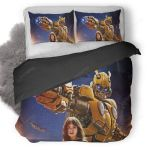 Bumblebee And Charlie #5 Duvet Cover Bedding Set