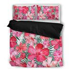 Hawaii Bedding Set, Tropical Duvet Cover And Pillow Case W8