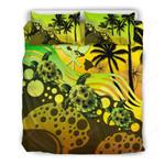 Hawaii Bedding Set -  Reggae Turtle Hibiscus  A24