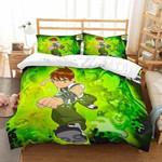 Ben 10 Et Bedroomet Bed Bedding Set   Twin, Full, Queen,   King   1 Duvet Cover, 2 Pillowcases   Thanksgiving, Christmas Set