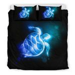 Hawaii Turtle Bedding Set, Honu Duvet Cover And Pillow Case Bn04