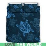 Hawaii Turtle Bedding Set, Honu Duvet Cover And Pillow Case H1