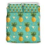Hawaii Bedding Set, Pineapple Duvet Cover And Pillow Case H4