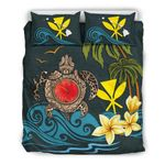 Hawaii Bedding Set - Coat Of Arm Turtle Hibiscus A24