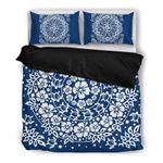 Hawaii Bedding Set, Hibiscus Turtle Duvet Cover And Pillow Case H4
