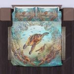 Hawaii Turtle Bedding Set, Honu Tropical Duvet Cover And Pillow Case Bn01