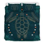 Hawaii Turtle Bedding Set, Honu Duvet Cover And Pillow Case Bn01